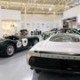 A Jaguar kiállítás időszakos, és eléggé impozáns, díjnyertes versenyautók, összetört prototípusok