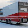 Norvégiában sok ilyen emelőhátfalas buszt látni (fotó: Horváth Tibor)