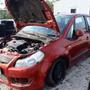 Ezt a Suzukit 10 éve törték rommá és a SZÜF lekérdezéskor tudta ezt meg jelenlegi tulajdonosa, aki néhány év használat után akarta becserélni kereskedésünkben.