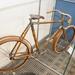 Cseh bambuszvázas kerékpár 1905-ből