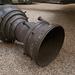 A V2-es német ballisztikus rakéta egy eleme