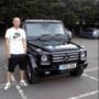 James Collins (Wales) - Mercedes G osztály