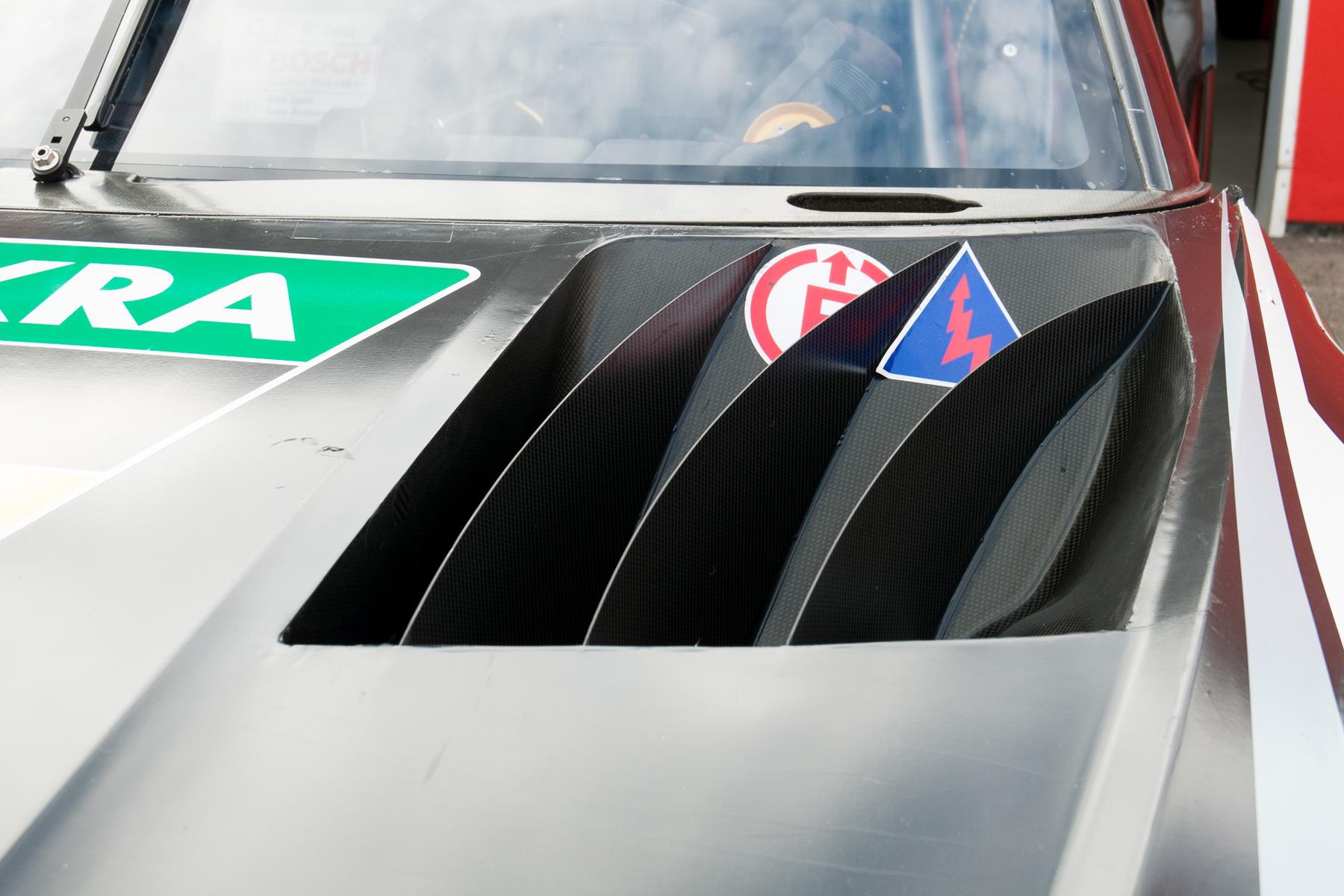 Ezt a féket a Le Mans-os autóról koppintották. Brutál hatékony a hűtése
