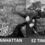 A két sziget a magasból a negyvenes években. A kép kicsit csalóka, valójában Tinian a nagyobb 14 négyzetkilométerrel