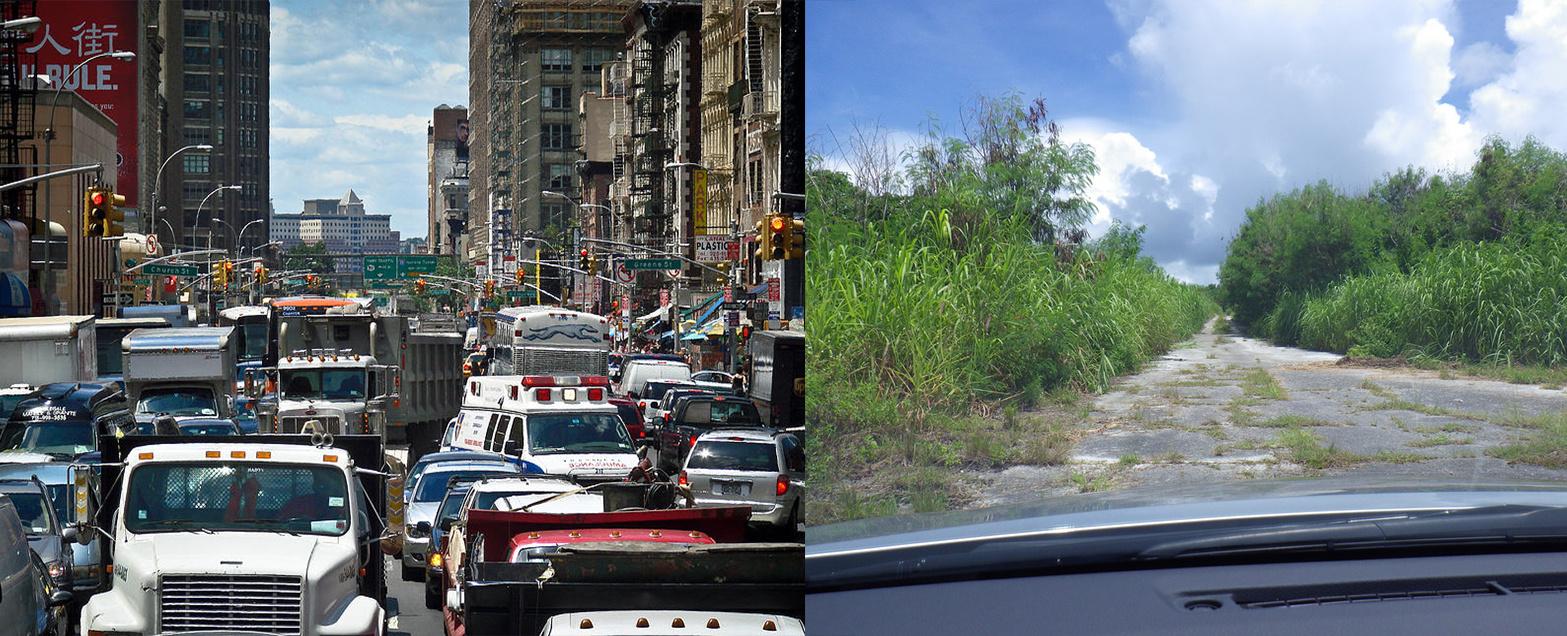 Út közepén New Yorkban és Tinianon