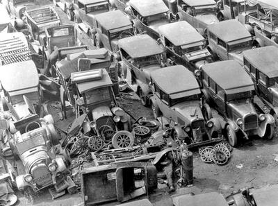 Oklahomai Dust Bowl-menekültek
