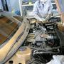 A motorja négyhengeres turbós benzines, keresztben. Akkoriban modern, ma teljesen hétköznapi elrendezés
