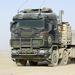 Scania teherautó a holland hadseregnél, az afgán ISAF-misszióban.