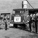Az első Scania teherautó érkezése a norvég  hadsereghez.