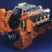 Scania 14-litre V8 hajómotor 750 LE.