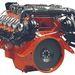 14 literes, V8-as hajómotor, 750 LE.