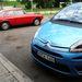 Ausztriában, egy Alfa Romeo 2000 GTV mellett (Hollandiából jött)