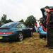 Ez a csodás 993 Targa egy fiatal apát és kisfiát szállította. Szombat délelőtt járunk, a Le Mans Legends retróversenyt próbáljuk elérni, késésből