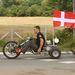 A hétszeres bajnok Tom Kristensen rajongói (Audi R10-e vasárnap reggel kiesett, nem ő vezette)