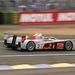 Tom Kristensen, Allan McNish és Rinaldo Capello Audija 17 órán keresztül vezette a versenyt, majd egy rosszul feltett kerék leesett, és az autó tönkrement. Le Mans-t ilyen apróságok döntik el.