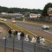 A safety car egy Audi RS4 volt (gyanús!), a kijelzőn a későbbi győztes 1-es rajtszámú R10