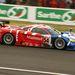 Egy amerikai gyártmányú Saleen S7-R. Francia csapat vezette, GT1-ben ötödikek lettek.