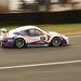 Ezt a Porsche 997 GT3-RSR-t a végére szigszalag borította és festéksprével fújták vissza a számát, de így is harmadik lett GT2-ben