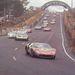 Legelöl a Bucknum-Hutcherson autó, 1966, Le Mans. Később kiesett