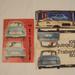 A Trabant 601 bemutatója alkalmából kiadott kis reklámújság 1964-ből, mellette pedig az azonos rendszámozású katalógusautó. Ma azt mondanánk, fotosopp