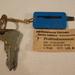 Gumiprofil-mérő kulcstartó a Pneumanttól