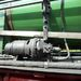 Százéves gőzhajtású generátor