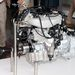 A komplett motor-váltó egység, keresztben beépítve hátul