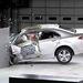 Az Acura TL is rondán tört, látszólag, ám a védelme hatékony, utascellája alig deformálódott