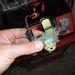 A vákuumvezérlő mágnesszelep tisztítás közben, jelgenerátorral vezérelve