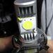 Egy alumínium öntvényre szerelik a LED-eket, a jobb hőleadás érdekében