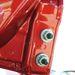 Íme a kilógó csavarok a hátsó ajtó tetőlégterelőjének belsején
