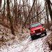Kemény terepen is jól boldogul a Jeep