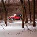 A gyári gumik mérsékelten alkalmasak terepezésre, viszont hóban jók