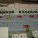 A Targa Florio múzeumban egy korabeli verseny makettje