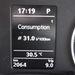 Euroringi RS-fogyasztás, benzinből, DSG-vel és kicsit gyorsabb tempóval (bocs. hogy életlen)
