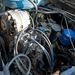 Amit látni a motorból, az a generátor