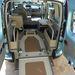 Légrugós mozgássérült szállító Kangoo