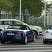 Az Audi fórum München kapujában, a reptéren és a parkoló tesztautók. Mindegyikről lecsúsztunk. Érdemes volt