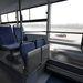 Az üvegfal mögött - jó ötlet, levegősebbnek érződik a busz