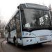 A midibusz nemcsak rövidebb, de keskenyebb is egy normál autóbusznál