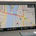 A navigáció remek, szép, éles képe van a kijelzőnek a szoftver pedig gyors és friss