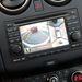 A körbekamerázott autó. A jobb oldali kép a felülnézet