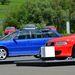 Első generáció, az RS2 Avant, mellette a második RS4 Avant