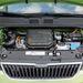 Az apró motor 60 lóerős kivitele inkább vidékre való. Hangsúlyozottan sík vidékre