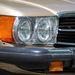 Szabvány, kerek amerikai fényszórók, mint minden akkori, kinti kocsiban. Egyben vannak az izzókkal, egy dollárért lehetett őket kapni a benzinkutaknál