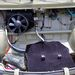 Fűtőradiátor külön ventilátorral