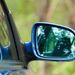 Egy kevésbé ismert R32-specifikum: ugyanakkora a jobbos tükör, mint a balos. A széria IV-esnél kisebb