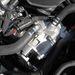 A vízhűtéses önindító-generátor. Finoman indítja be a benzinmotort