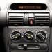 A vészvillogó kapcsolója gyakran tönkremegy a korabeli Opelekben - ebben működött