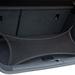 Csomagtere jól rakodható, az ülések is döntögethetők. Alapból 360 liter